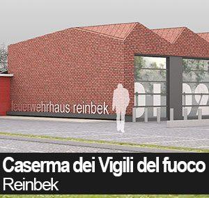 Nuova Caserma VVF – Reinbek Amburgo DE committente: Comune di Reinbek