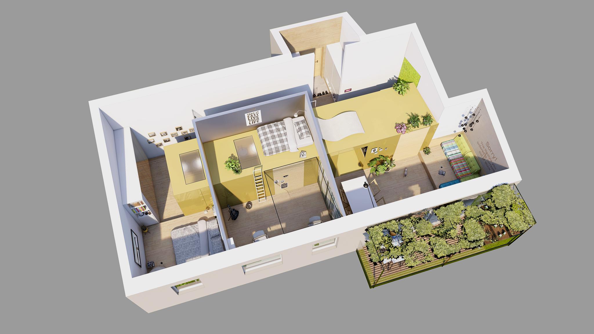 Studio progettazione interni a Trento